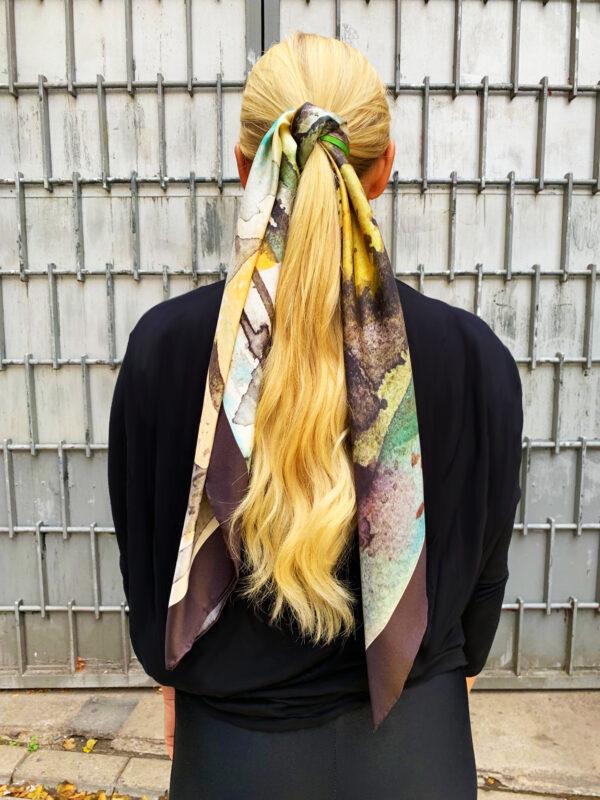 Lina Gunnel head scarf